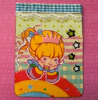 I love the 80's ATC series- Rainbow Brite