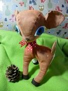 Swap-bot swap:  Handmade Whimsical Woodland Softie 1  partner