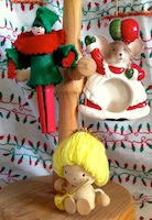Swap-bot swap: Christmas Vintage Ornament Swap