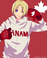 Axis Power Hetalia - CANADA ATC