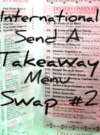 International Send a Takeaway Menu Swap #2