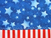 Quick Patriotic Dishcloth