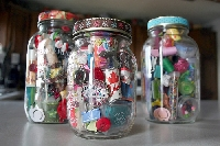 Itsy Bitsy Teenie Weenie Baby Jar Of Whimsy ~Int'l