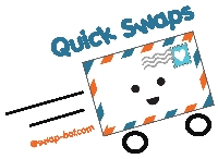 Swap-bot swap: QUICK Sticker sheet swap #10