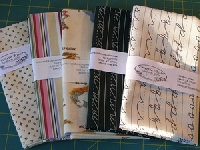 Fat Quarters Material Swap White Fantasy #6