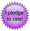 I Pledge to Rate!