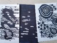 Blackout Poetry Swap #1 - New Series
