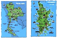 Map Postcards #34 (blank and in envelope)