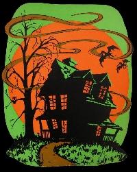 Haunted House ATC